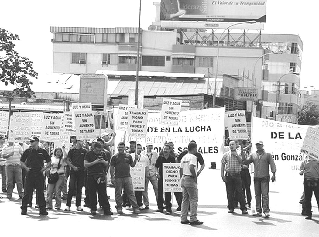 Tendencias de la conflictividad social en Venezuela en agosto 2012