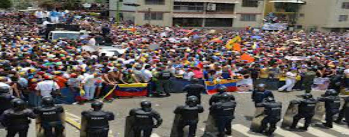 Conflictividad social en Venezuela 1er semestre 2013