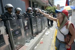 Conflictividad social en Venezuela en marzo de 2014