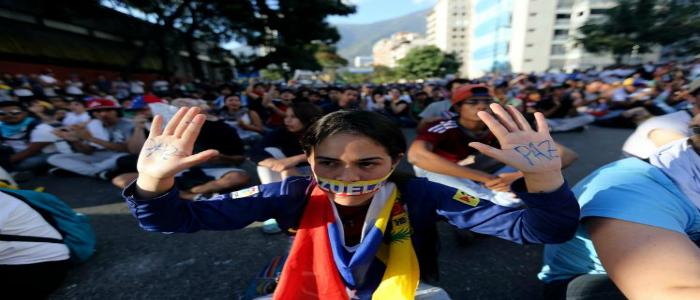 Conflictividad social en Venezuela en el primer semestre de 2014
