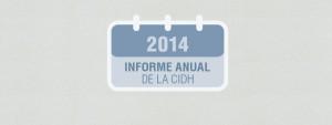 CIDH Informe Anual 2014