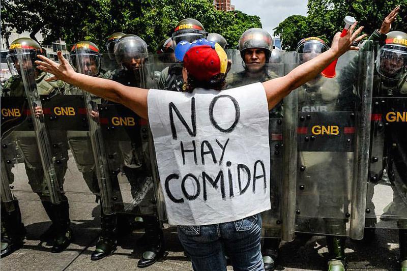 Conflictividad social en Venezuela en el primer semestre de 2016