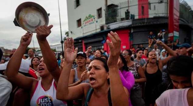 Conflictividad social en Venezuela en agosto de 2016