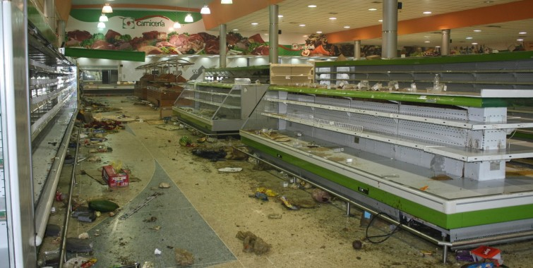 Social conflict in Venezuela during the first semester of 2016