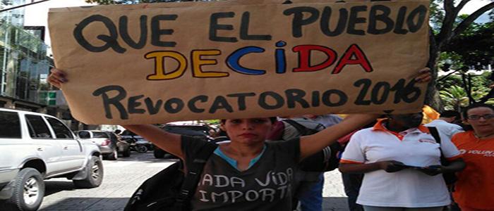 Conflictividad social en Venezuela en octubre de 2016