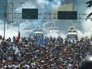 Conflictividad social en Venezuela en 2017