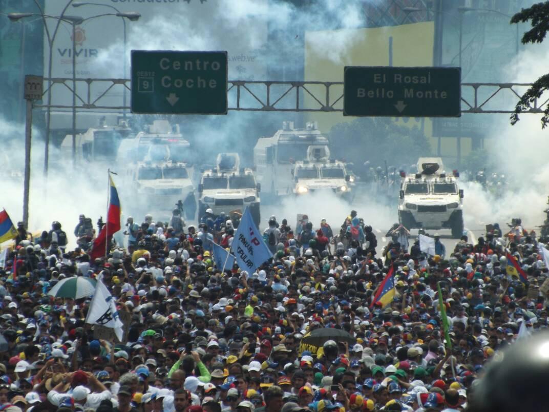 Deploramos el asesinato de manifestantes y aumento de la represión en Venezuela