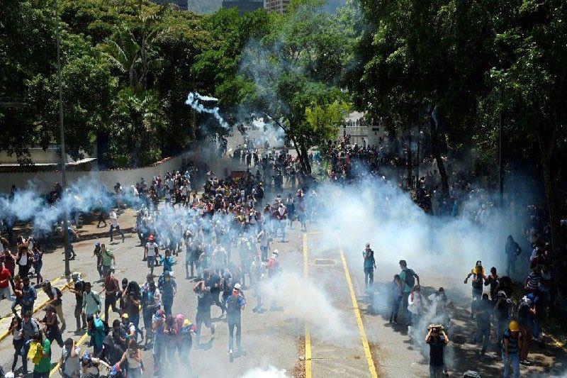 Exigimosal Estado venezolano poner fin a la escalada de represión de protestas pacíficas