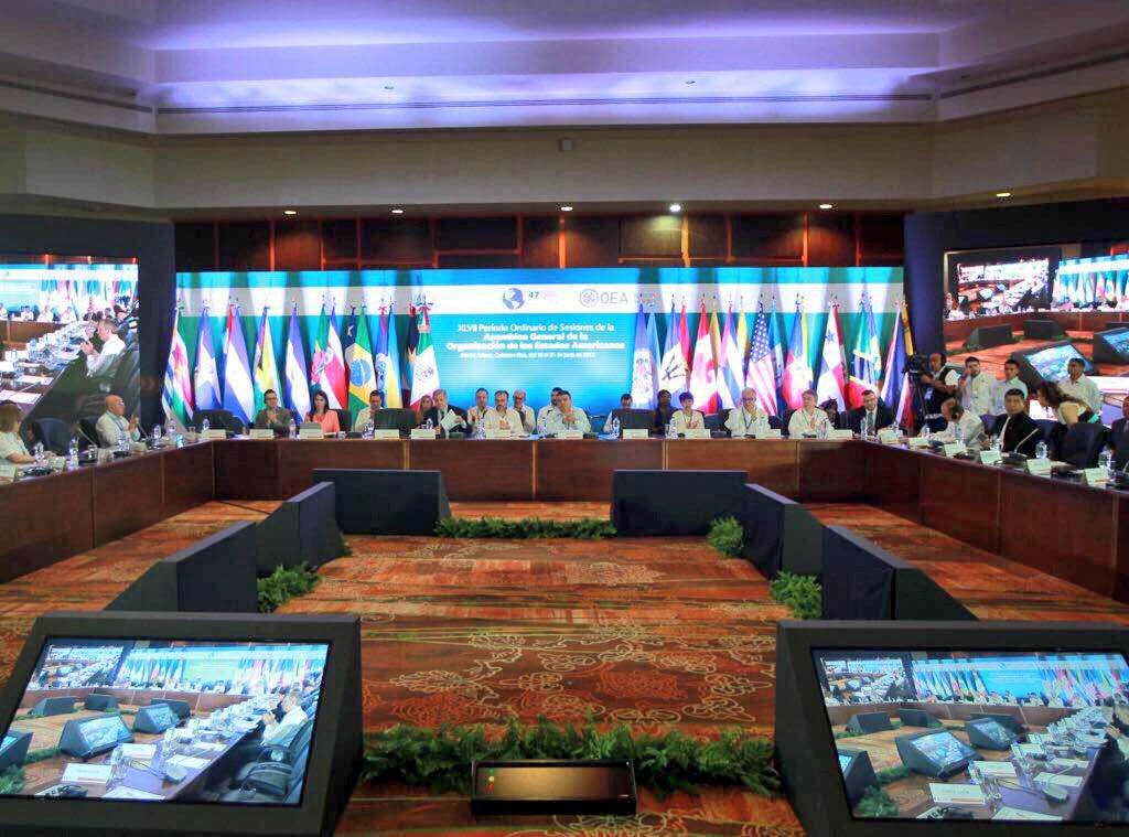 EN VIVO Transmisión 47 Período Ordinario de Sesiones de la Asamblea General de la OEA – 2017