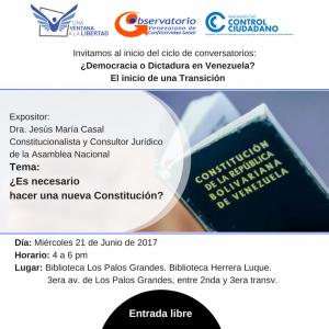 ¿Es necesaria una nueva Constitución en Venezuela?