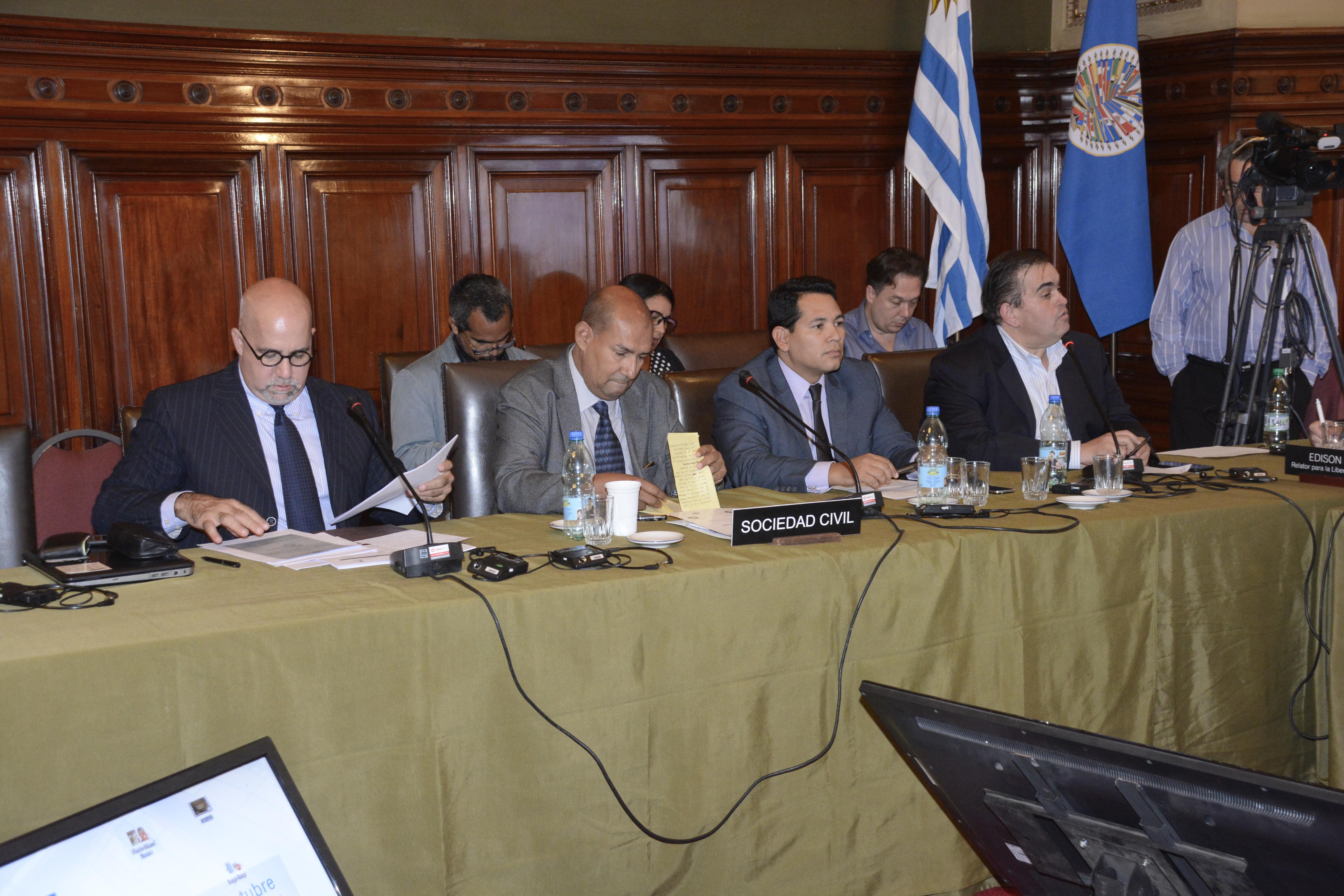 OVCS participó en el 165 período se sesiones de la Comisión Interamericana de Derechos Humanos (CIDH)