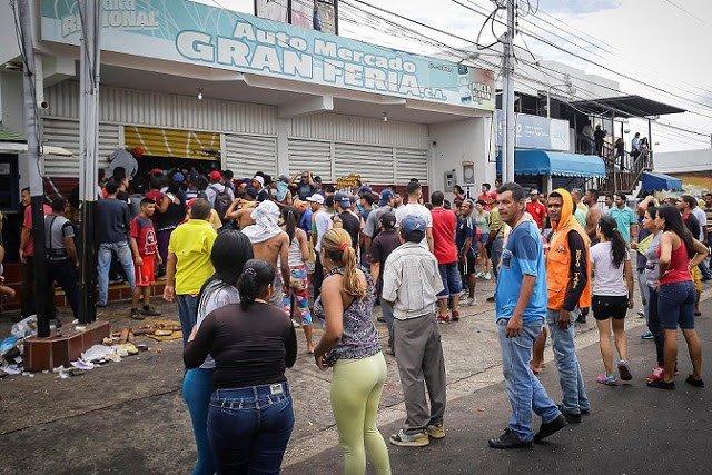 Conflictividad social en Venezuela en enero de 2018