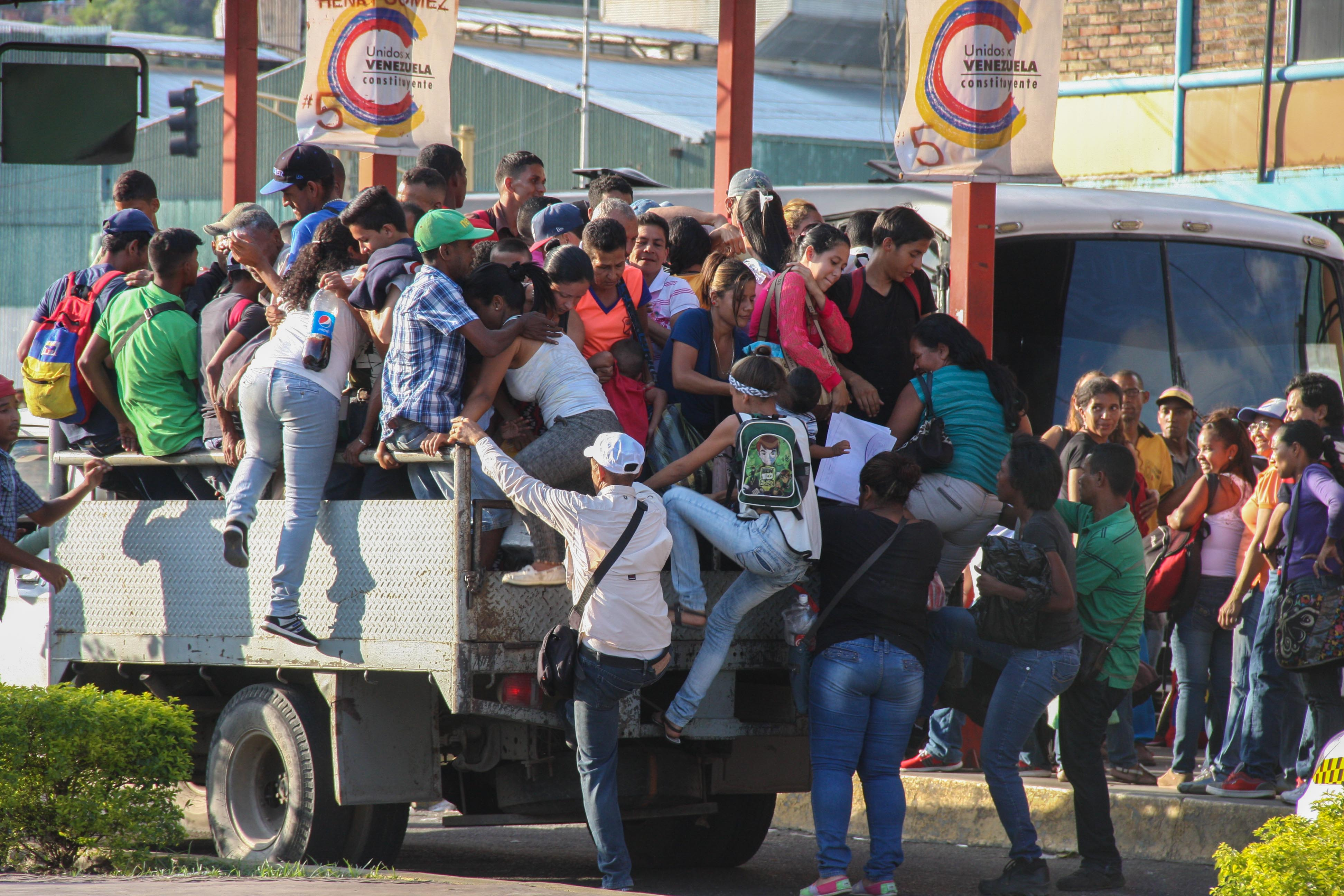 Conflictividad social en Venezuela en febrero de 2018