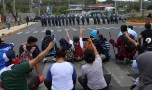 OVCS se suma al rechazo mundial de la represión en Nicaragua