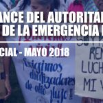 Conflictividad social en Venezuela en mayo de 2018