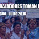 Conflictividad social en Venezuela durante julio de 2018