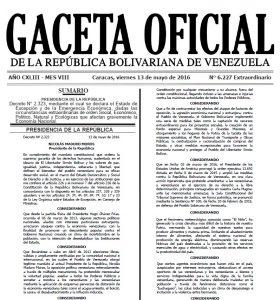 Gaceta-Oficial Extraordinaria Nº 6-227