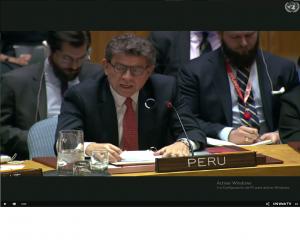 Consejo de Seguridad de Naciones Unidas se reúne para abordar la situación en Venezuela martes 26.02.19