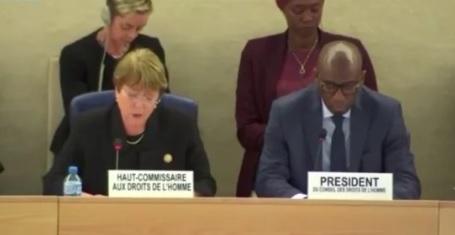Michelle Bachelet: Estoy preocupada por la gravedad  de la crisis en Venezuela