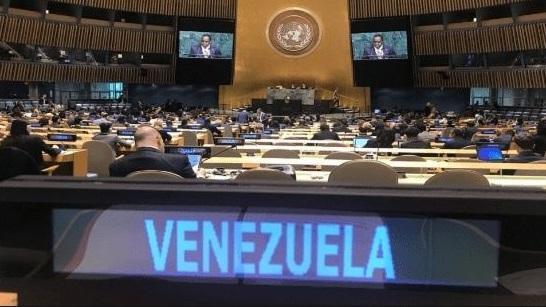 Venezuela admite crisis ante la ONU y culpa a EEUU