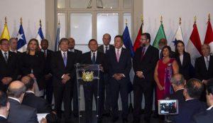 Grupo de Lima reafirma compromiso con la restauración de la democracia en Venezuela