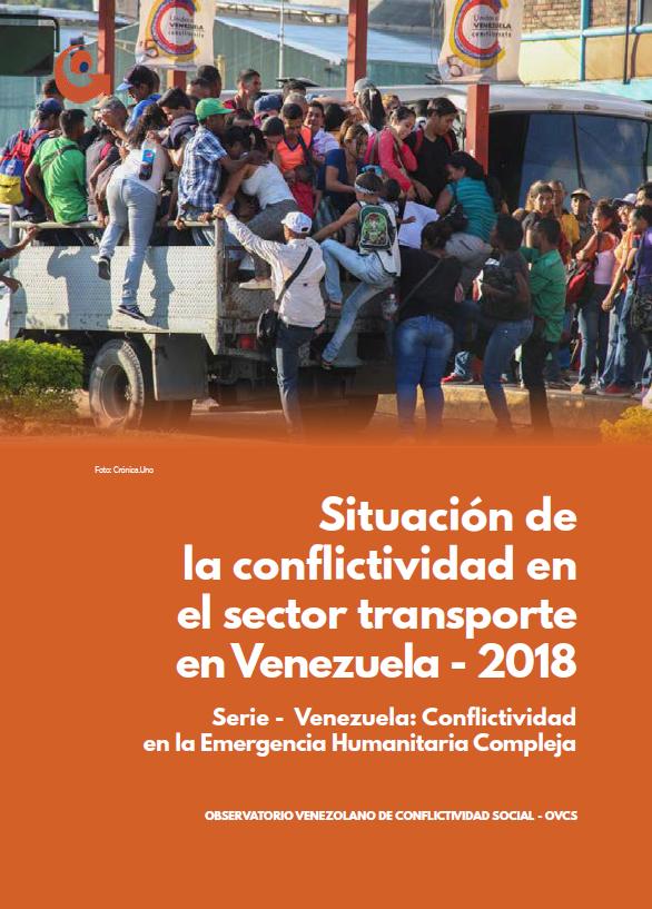 Situación de la conflictividad en el sector transporte en Venezuela 2018