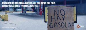 Situación de la conflictividad en Venezuela en mayo de 2019