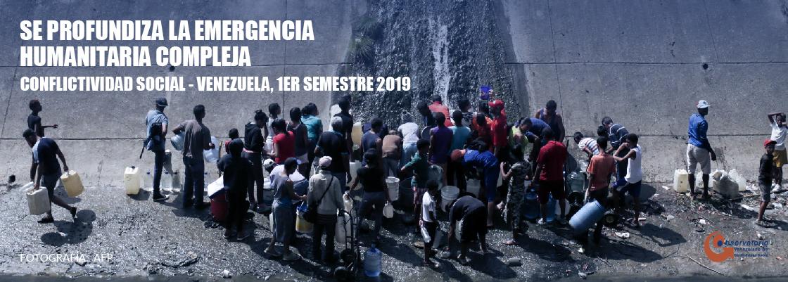 Conflictividad Social en Venezuela durante el primer semestre 2019