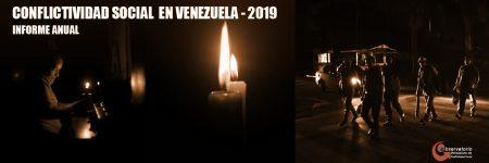 Conflictividad social en Venezuela en 2019