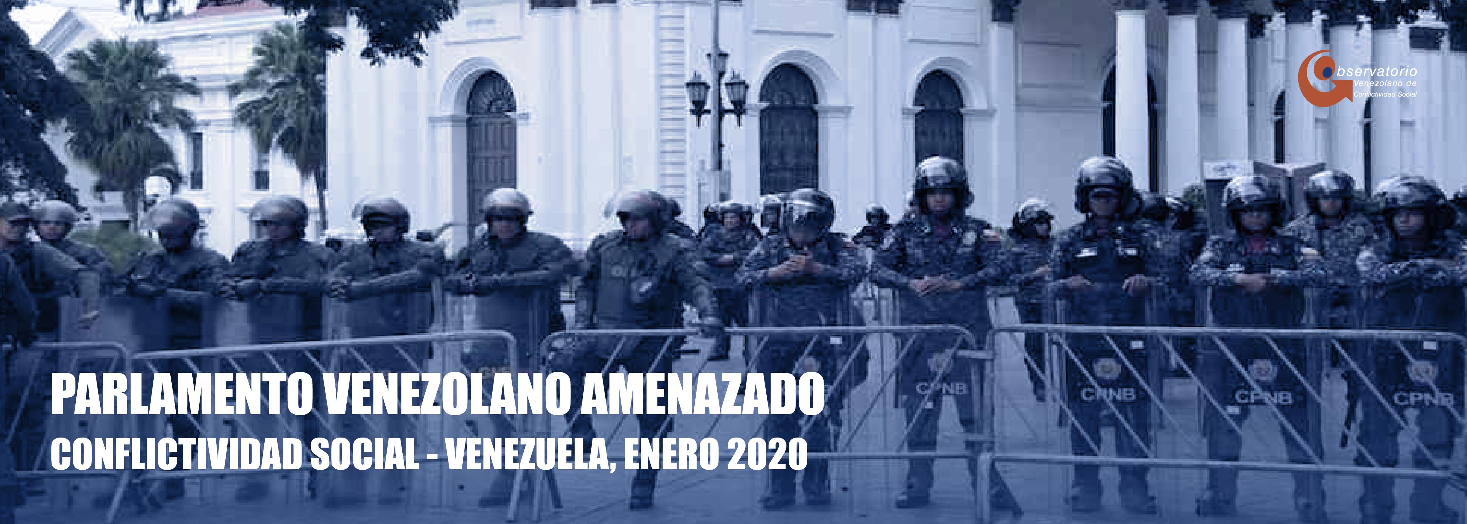 Conflictividad Social en Venezuela en enero de 2020