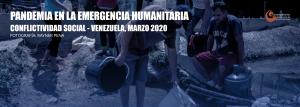 Conflictividad social en Venezuela en marzo de 2020