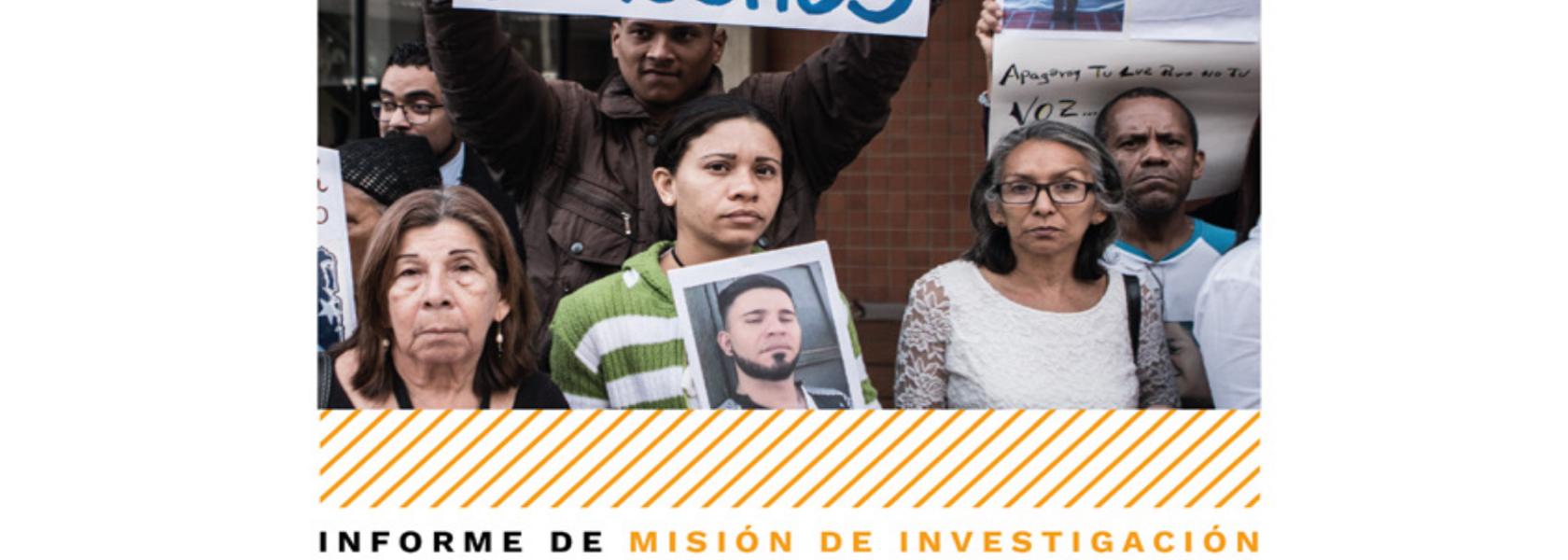 """Venezuela: """"Enemigos internos""""           La defensa de derechos humanos bajo ataque"""