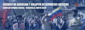 Conflictividad Social en Venezuela en mayo de 2020