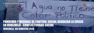 Conflictividad Social en Venezuela en el primer semestre de 2020