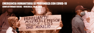Conflictividad Social en Venezuela en julio de 2020