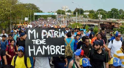 Urge una transición pacífica y democrática en Venezuela
