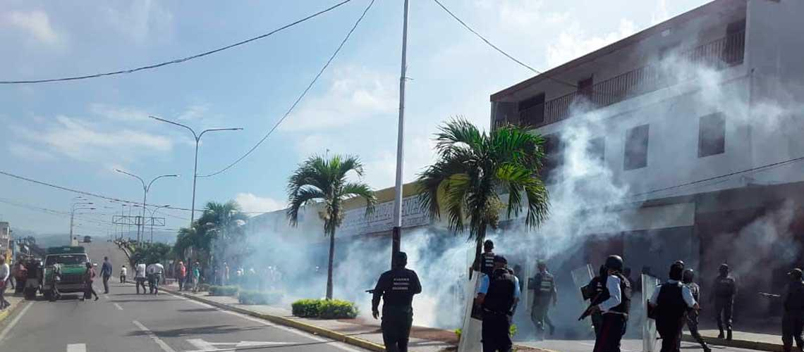 Habitantes de Yaracuy protestan 4 días consecutivos