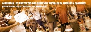 Conflictividad Social en Venezuela en septiembre de 2020