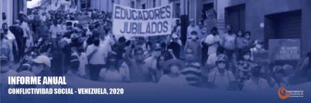 Conflictividad social en Venezuela en 2020