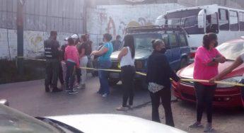 21.04.21 vecinos de La Dolorita, en Petare estado Miranda, exigen agua potable