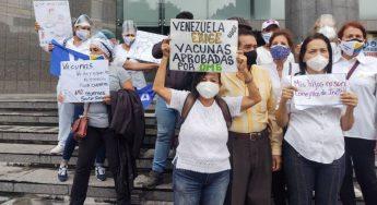 Enfermeras y docentes rechazan vacuna cubana Abdala en menores. 16.07.21