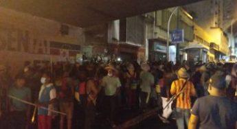 18.11.20 Indígenas Yukpas en inmediaciones del palacio de Miraflores, provenientes del estado Zulia.